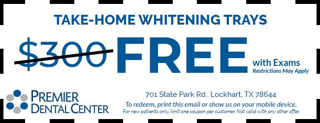 Take Home Whitening Coupon